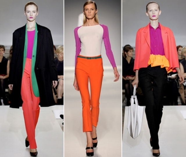 Fashion Trend Color Blocking
