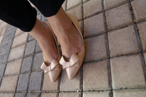 Nine West Nude Shoes